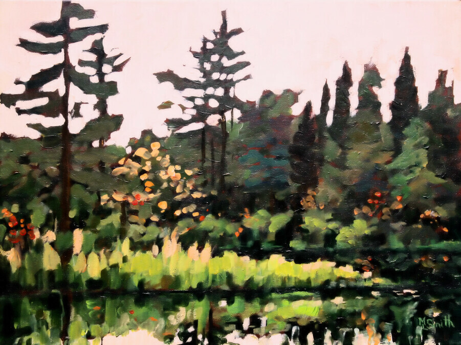 Art By Mary Lynn Recent Additions Rock Lake Algonquin Park